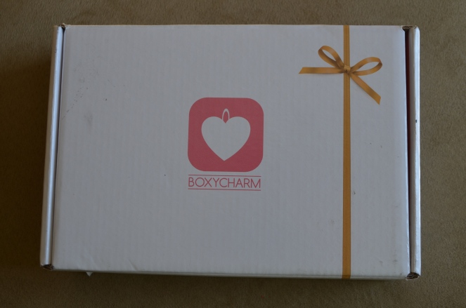 boxycharm february 2015 review swatch swatches beauty subscription box makeup