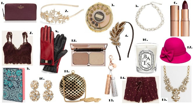 christmas gift guide accessories makeup