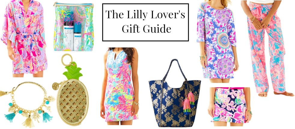 lilly pulitzer gifts christmas presents 2016 moments of a mermaid momentsofamermaid blog preppy classic what to buy what to get silk robe pajama pants st. tropez beach bag marigold skirt bay dress fallon shift dress pineapple coin purse tassel bracelet