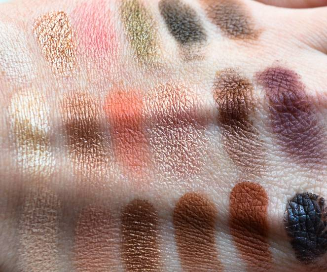 too faced sweet peach palette eyeshadow swatch swatches review beauty makeup momentsofamermaid moments of a mermaid blog blogger limited edition spring look sephora ulta 2017