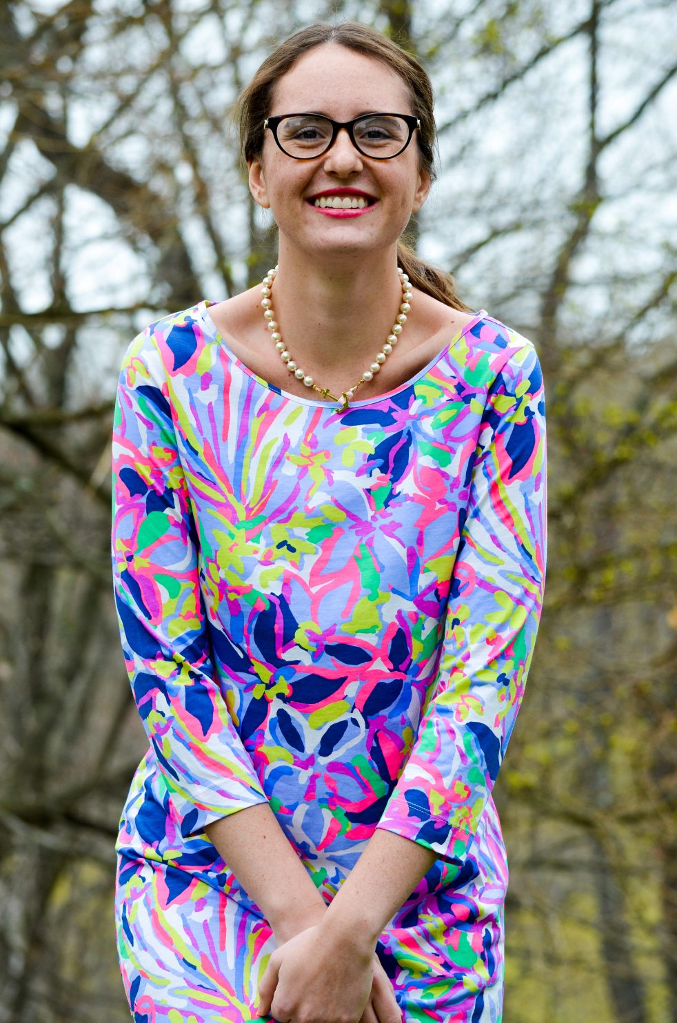 momentsofamermaid moments of a mermaid blog fashion blogger preppy ootd outfit of the day lilly pulitzer easter 2017 what to wear dress